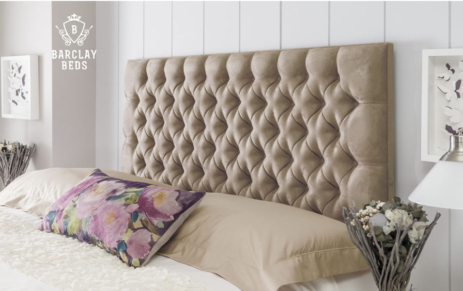Chesterfield Deep Upholstered Headboard Barclay Beds