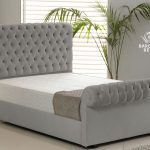 Chesterfield Sleigh Bed