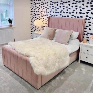 Flora Wingback Bed